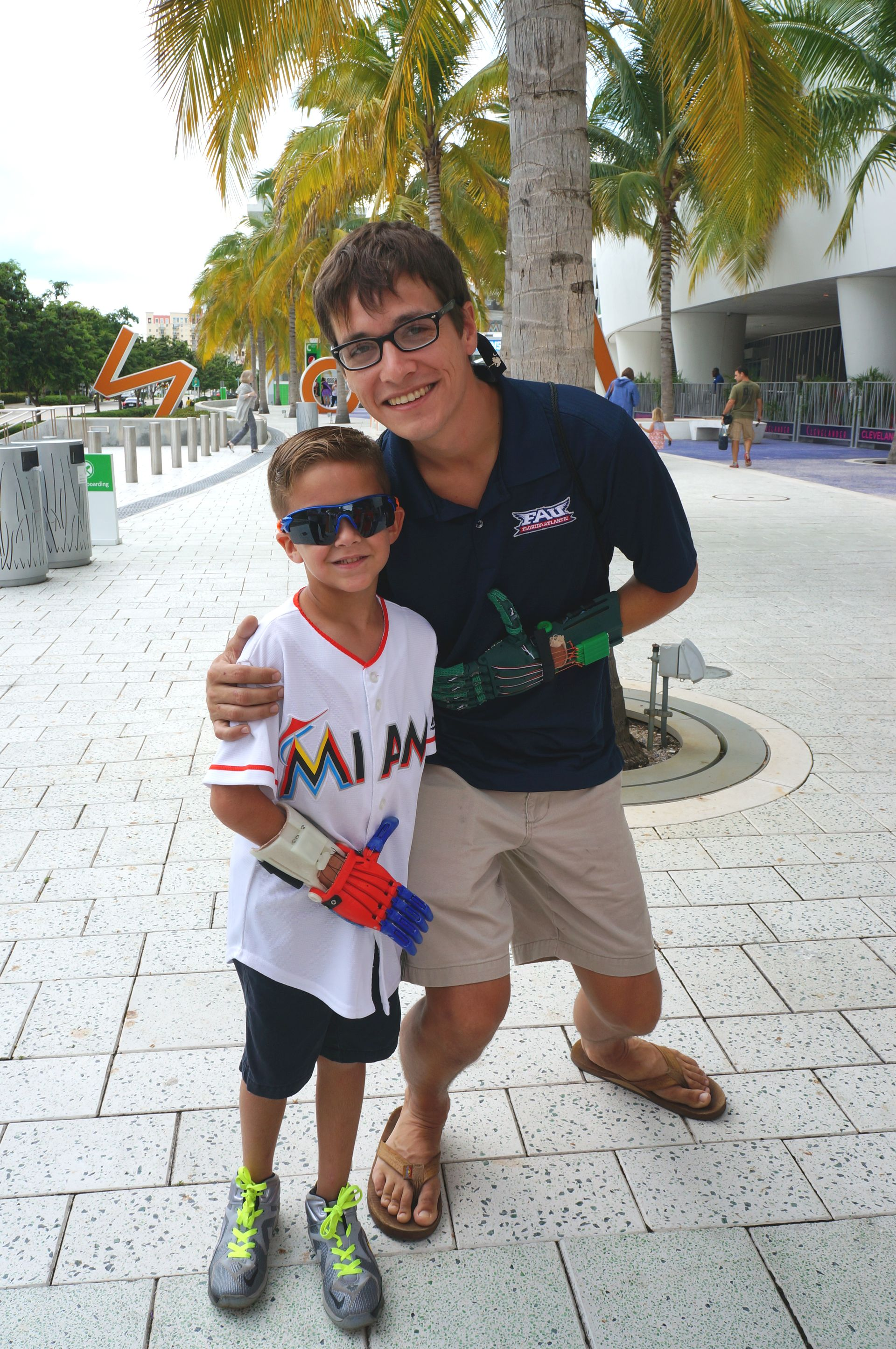 Labor Day 2015 Marlins Julian's 1st pitch